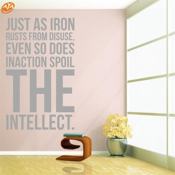 AYA DIY Wall Stickers Wall Decal,English Sentences PVC Wall Stickers M42*69cm/L55*90cm