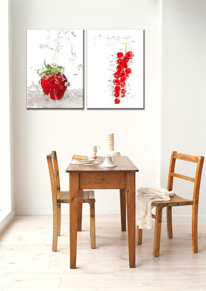 Modern Fresh Fruits Picture Oil Canvas For Kitchen Dinning Room Painting Wall Decoration