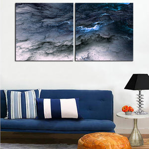 Large size 2pcs/set Print Oil Painting Wall painting NO2SET-6 Home Decorative Wall Art Picture For Living Room paintng No Frame