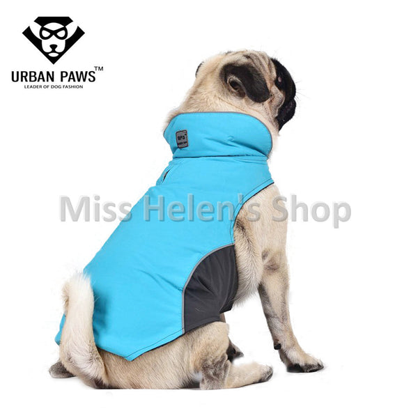 Quality Large Dog Clothes Waterproof Winter Outdoor Coat for Pugs Husky Bull Dogs Fleece Lining Warm Outwear Dog Clothes S-5XL