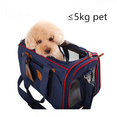 Dog Carrier Bag High Quality Summer Pet Carrier Breathable Mesh Outdoor