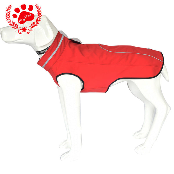 Clothes For Dog christmas winter Dogs Coat Jacket Waterproof Pet Raincoats Warm Outdoor Safety Supplies Small Big Dog XXXL