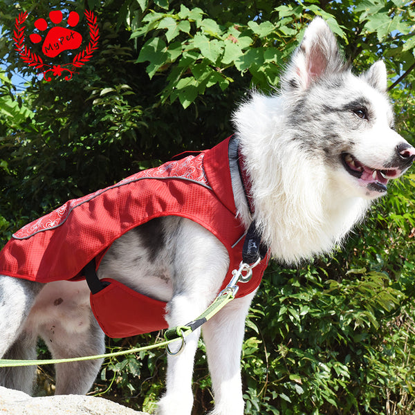 Clothes For Dog christmas winter Dogs Coat Jacket Waterproof Pet Raincoats Warm Outdoor Safety Supplies Small Big Dog VC14-JK004