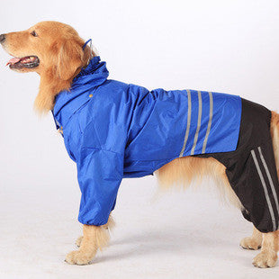Pet Dog Rain Coat Fashion Dogs Puppy Casual Waterproof