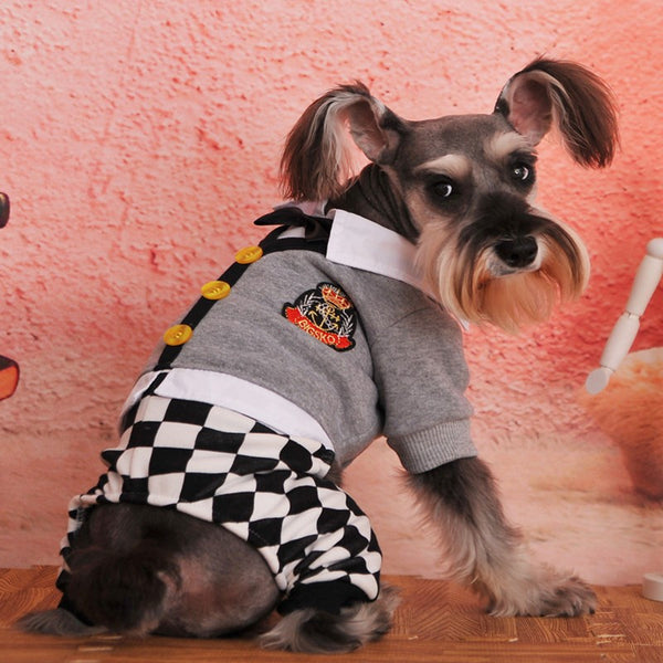 New Soft Fleece Dog Clothes Autumn Hoody Four Legs Jumpsuit Clothing for Dog Warm Pet Costume Winter Pet Coat Free shipping