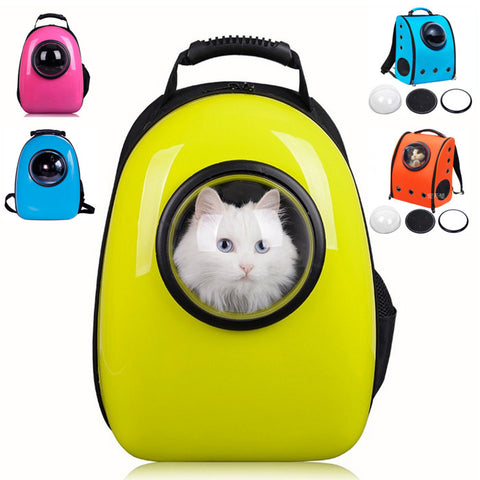 Dog Carrier Bag Candy Color Pet Backpack