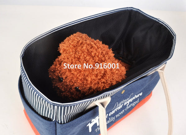 2016 Mesh Opening Pet Bag for Small Dogs Portable