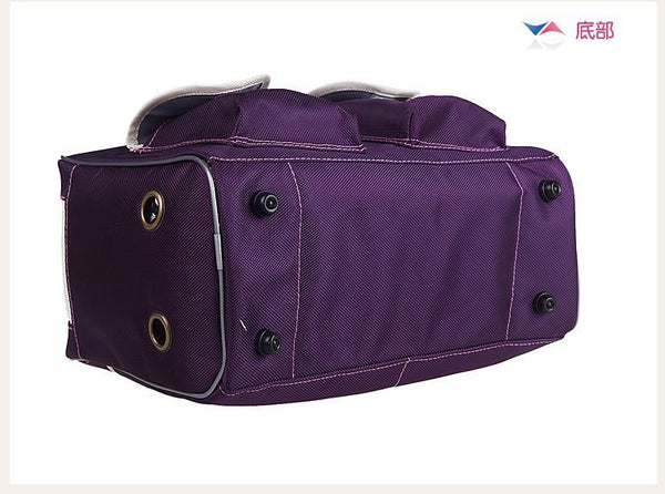 Dog Carrier Bags for Small Dogs Shoulder Bag Fashion Casual Foldable Breathable