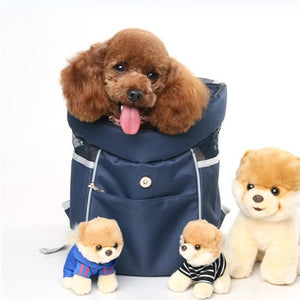 Pet CarrierTravel Bag Head Out Double Shoulder Outdoor