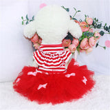 2016 Newest Style Dog Dresses Summer Small Dog Cute Tutu Skirt Breathable Cotton