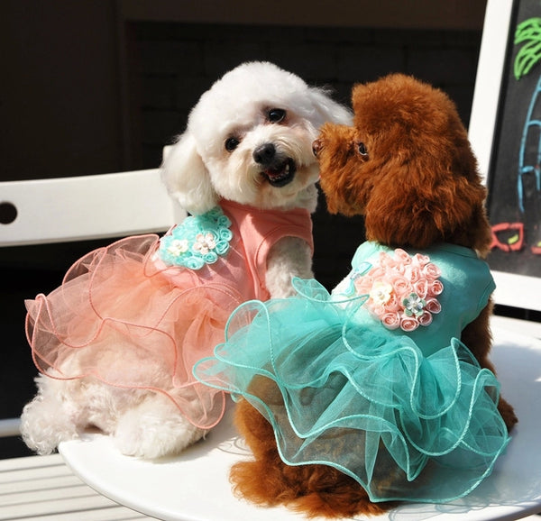 Summer Dog Dresses Dog Tutu Dresses Princess
