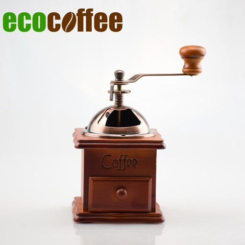 1PC Free Shipping Eco Coffee Manual Coffee Grinder Coffee Bean Mills Food Grinder