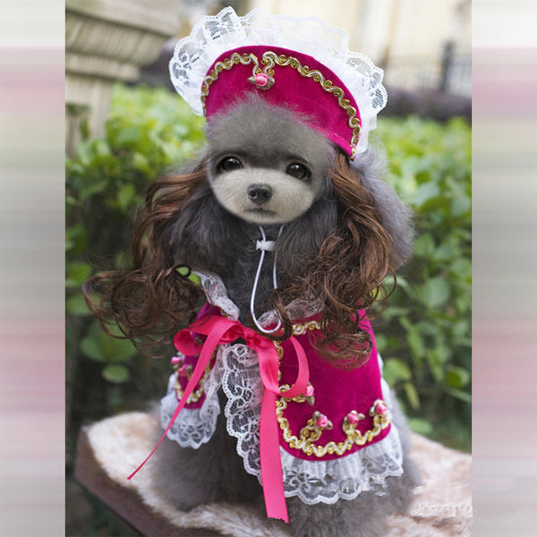 With Tracking Quality Party Dog Clothes Dresses