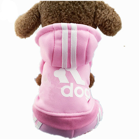 Autumn Winter Pet Dog Coat And Jacket Clothes for Small Pet Dog Pet Products XS S M L XL XXL Blue Red Grey Pink High Quality