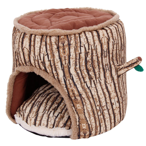 Pet Dog Bed Cat Dog House Winter Warm Tree shape dog kennel Soft Thicken Puppy Cat Cushion Couch Sofa Bed Mat Pet supplies