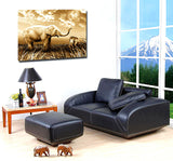 African Elephant Mon and Baby Modern Animal Painting Canvas Print  for Home Living Room Office Hotel Wall Art Decor