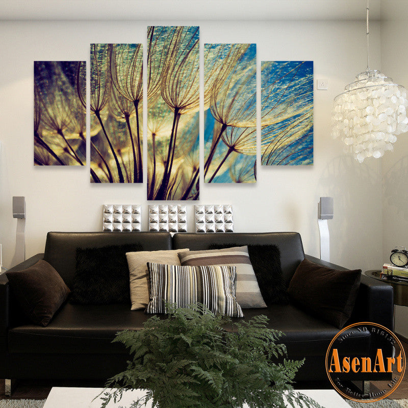 Dandelion Painting Art Prints