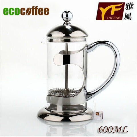 1PC Free Shipping Espresso 600Ml French Coffee Press