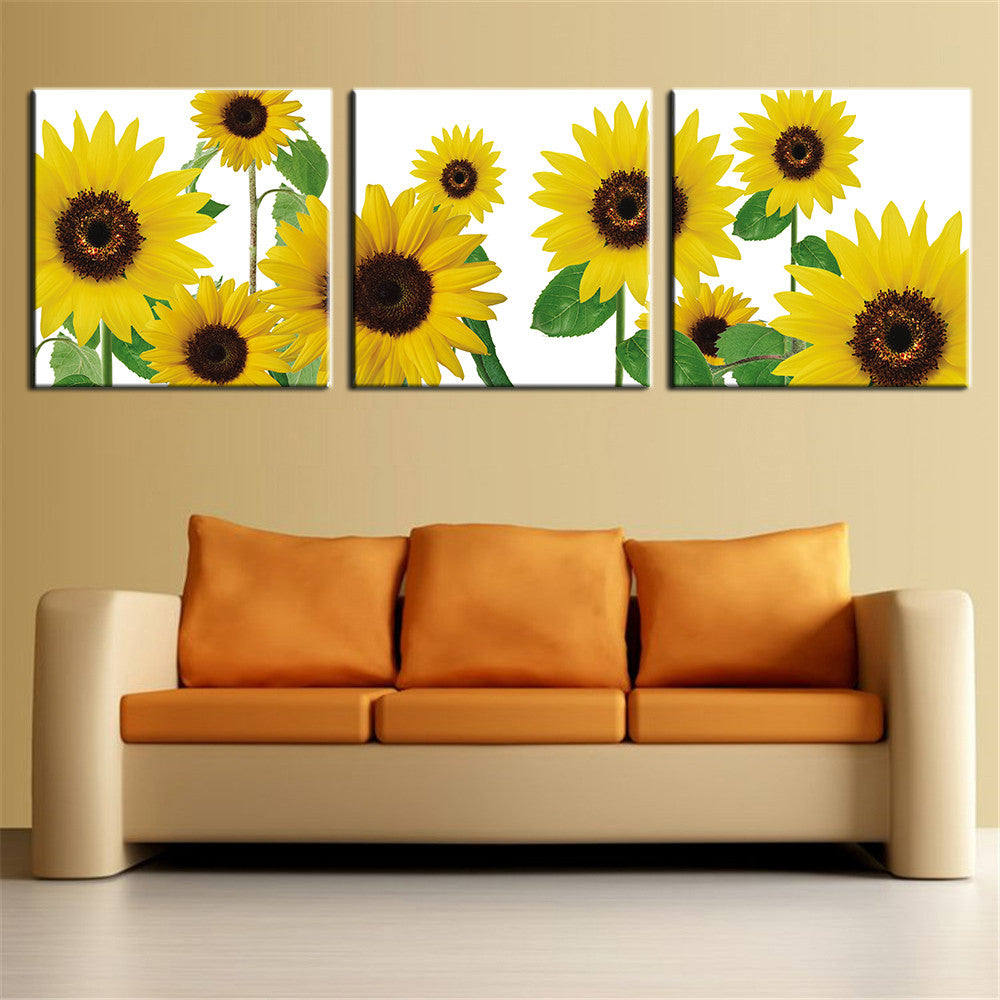 The Most Famous Living Room Painting Wall Art Picture Flower ...