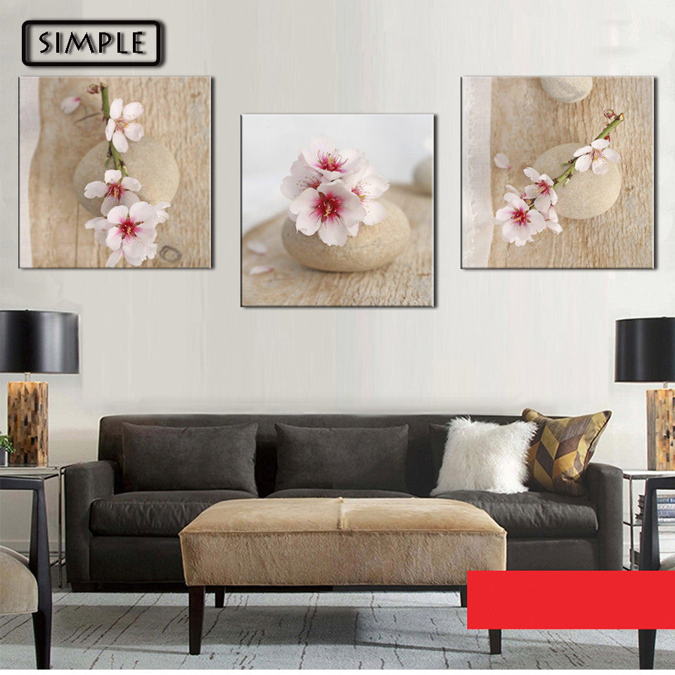 Oil Paintings Canvas Sakura Flower Wall Art Decoration Home Decor On Canvas  Modern Artwork Wall Pictures