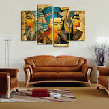 4 Piece Modern Abstract Oil Painting Decorative Canvas Art Wall Picture Unique Gift For Living Room No Frame F1652