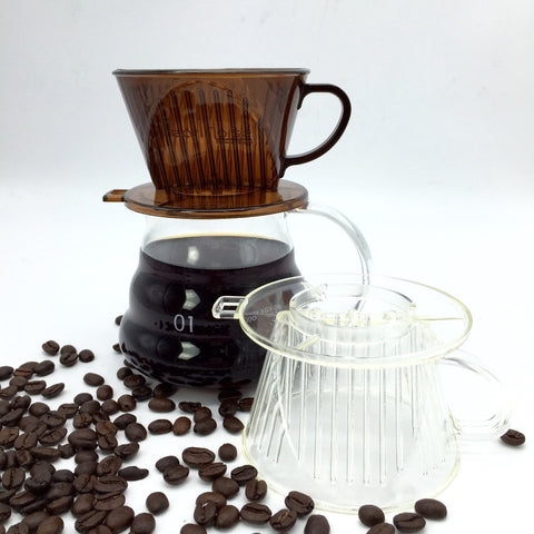 1 PCS 101-type coffee filter cup / high quality drip coffee filter bowls manually follicular filters coffee tools No Pot
