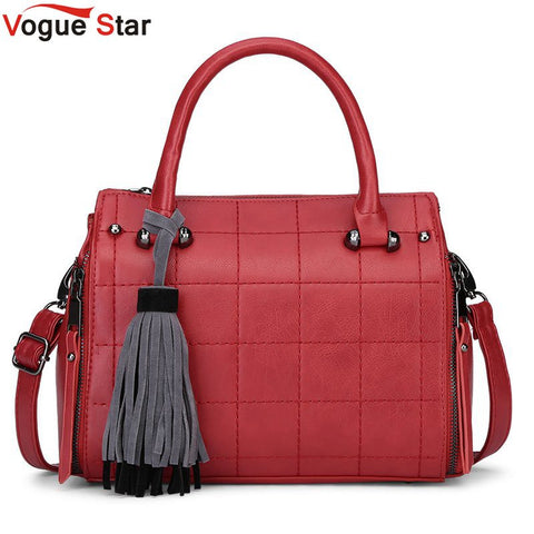 Vogue Star Boston Women bag ladies women Messenger bags for women vintage designer handbags high quality tassel tote bag LA294