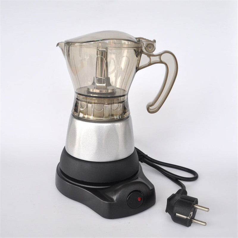 4 cups of filter cartridge material Aluminium electric Moka pot / Moka coffee pots coffee percolators tool filter coffee pot