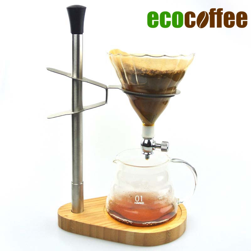 1 Set Free Shipping Coffee Dripper Rack with one Coffee Dripper