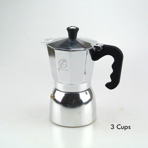 1PC Free Shipping Espresso Coffee Moka Pot Aluminum Mocha Pot 3 Cups/6 Cups