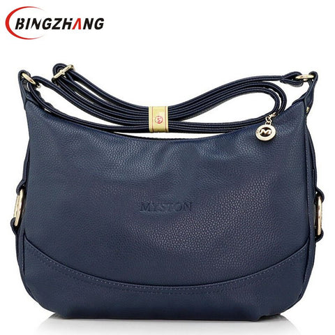 Hot Sale New Fashion Brand women Leather handbag The Female Shoulder Bag Designer Handbags women messenger bags L4-1633