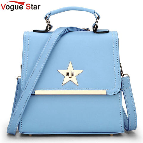 Vogue Star 2017 New Korean Backpacks Fashion PU Leather Shoulder Bag School Bags Small Women Backpack Leisure Bags LA293