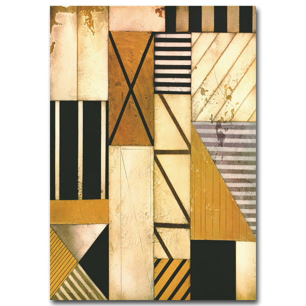 Colorful Geometry Abstract Art Canvas Poster Minimalist Painting Wall Picture Print Modern Home Living Room Decoration