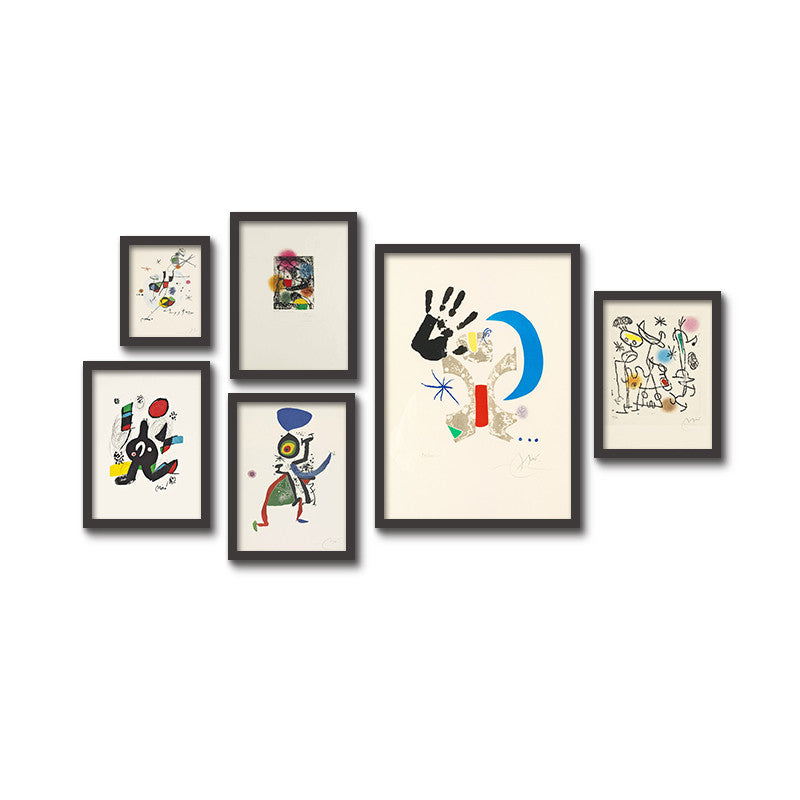 Personality Graffiti Decorative Painting Abstract Simple Modern Children S Room Kindergarten Murals Bar Wall Paintings