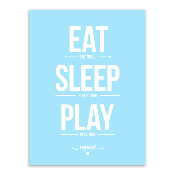 Nordic Minimalist Motivational Typography Life Quotes A4 Art Print Posters Wall Picture Canvas Painting Girl Boy Kids Room Decor