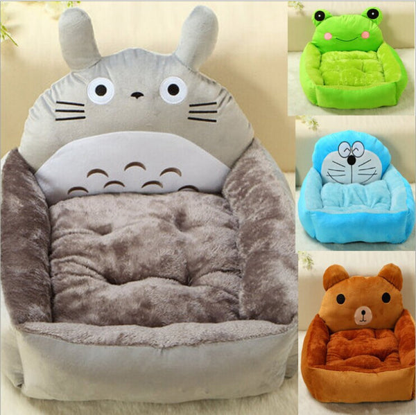 1pcs/lot  New Animal Dog Bed House Candy 6 Colors Heavy Cotton Padded Winter Bed for Dog Cat Kennel House Pet Product
