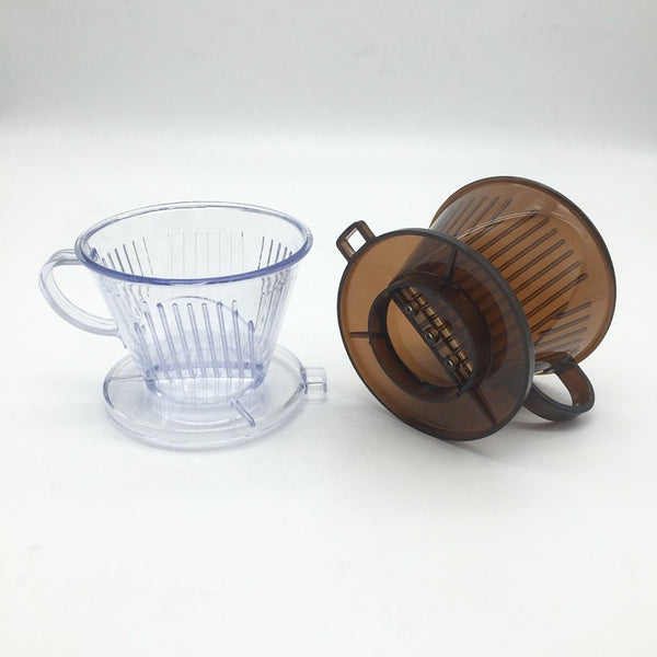 1 PCS 102-type coffee filter cup / drip coffee filter bowls manually follicular filters coffee and tea tools