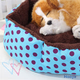 Promotion ! Pet Products Cotton Pet Dog Bed for Cats Dogs Small Animals Bed House Pet Beds Cushion High Quality Cheap D0091