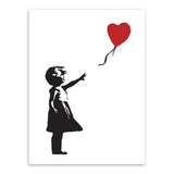 Modern Abstrcat Black White Banksy Hipster Pop A4 Art Print Poster Wall Picture Living Room Canvas Painting No Frame Home Decor