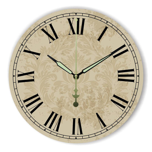 More Silent Large Decorative Wall Clock For Bed Room Decor Warranty 3 Years Vintage Home Decor Wall Decor Watch Clock Gifts