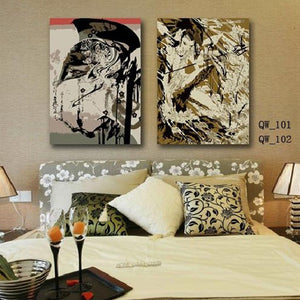 Hot Sale Decoration Canvas Painting Fashion Abstract Art Living Room Bedroom Canvas Printings