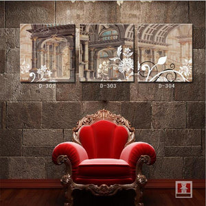 Hot Sale Pattern Wholesale Decorative Oil Painting Imitation Living Room Bedroom Canvas Painting