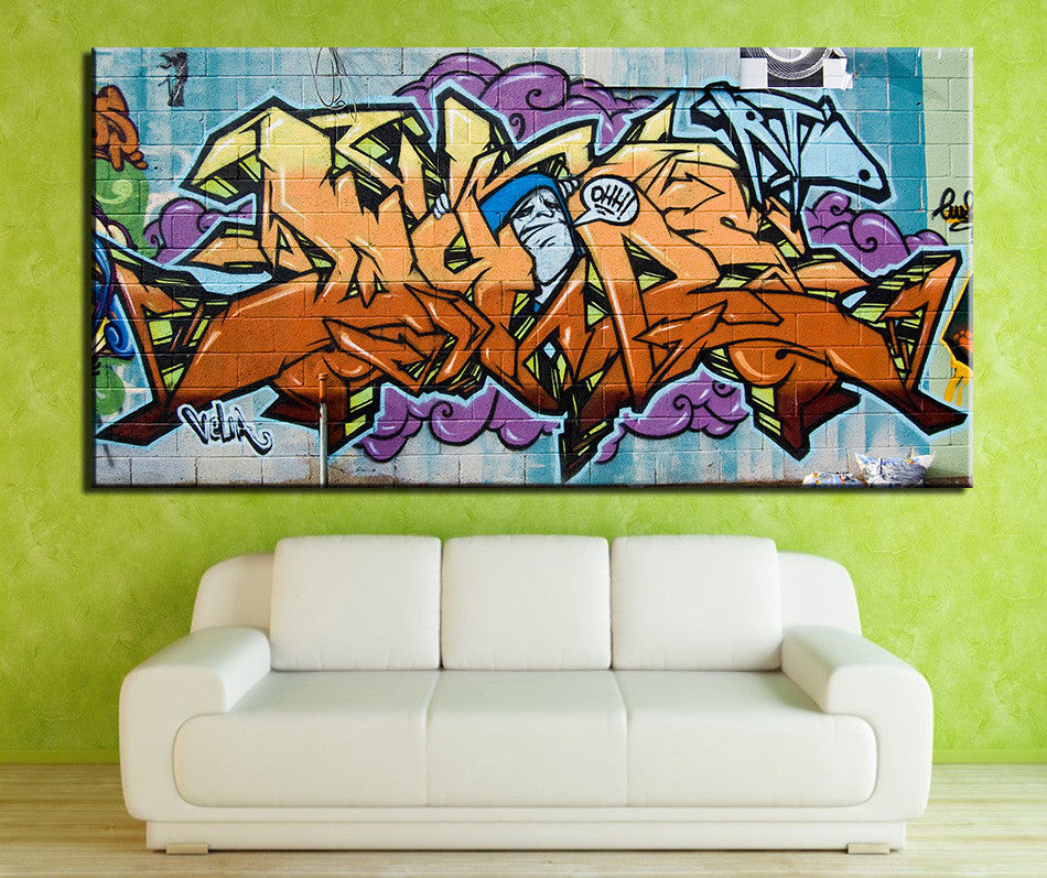 2016 Rushed Sale Fallout Cuadros Decoracion Wildstyle graffiti Painting Prints On Canvas No Frame Pictures Decor for Living Room