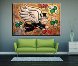 Wall Art Abstract Paintings Modern Oil Painting On Canvas Home Decoration Living Room Pictures ( alec_monopoly  ) No Framed