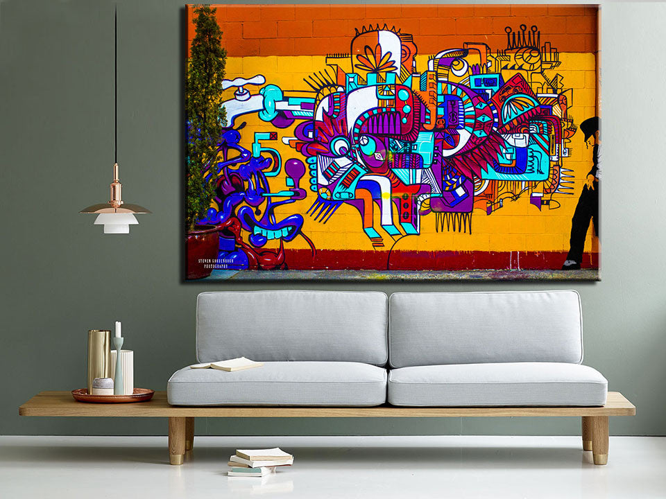 Cuadros Decoracion Free Shipping Final Signature Single Abstract Art Painting For Home Decor Picture Print On Canvas No Frame