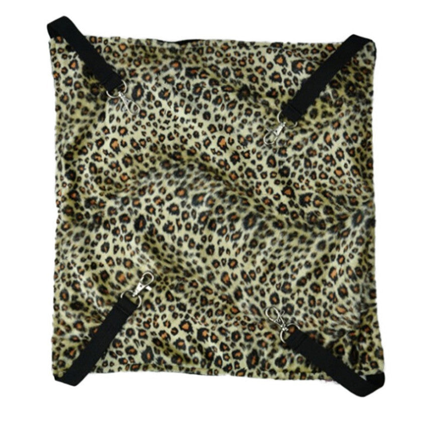 New Arrival Zebra Stripe Leopard & Dot Pattern Pet Products Cat Bed Cage Bed Small Pet Hang On Hammock
