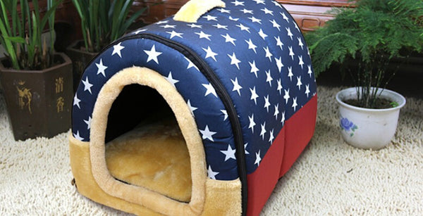2015 New Fashion Circular House Can Unpick And Wash Dog House Pet Products House Pet Beds for Small Medium Dog GP15102704
