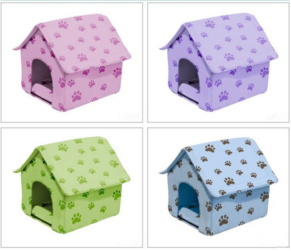 2016 New Arrival Dog Bed Cama Para Cachorro Soft Dog House Daily Products For Pets Cats Dogs Home Shape 6 Color  GP160401-17