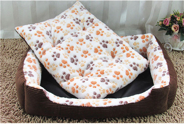 Top Quality Large Breed Dog Bed Sofa Mat House 3 Size Cot Pet Bed House for large dogs Big Blanket Cushion Basket Supplies HP789