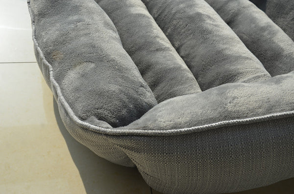 Waterproof Pet Bed Grey Patterns Sweety Dog House Moistureproof Keep Clean Pets Bed Home For Cats Resistant Bite